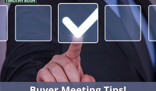 Buyer Meeting Tips Plus Other Big Boxer Questions Answered