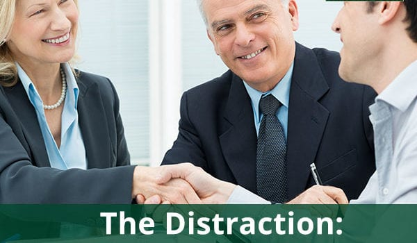 The Distraction: Building Anticipation Into Your Pitch